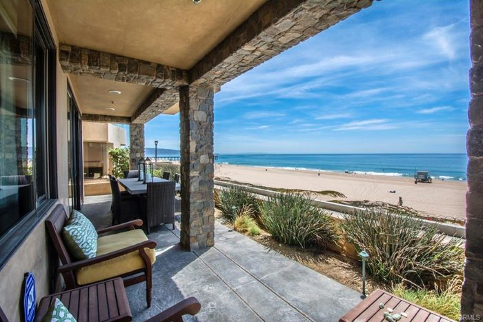 1804 The Strand oceanfront deck manhattan beach