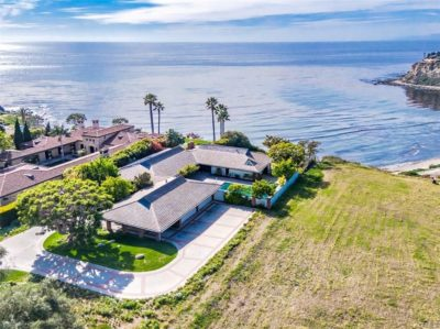 Oceanfront homes in Palos Verdes